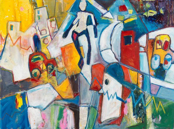 Traffic II - The Artist's Studio