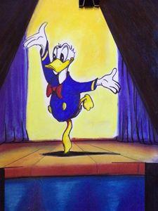 Donald's moment in the spotlight