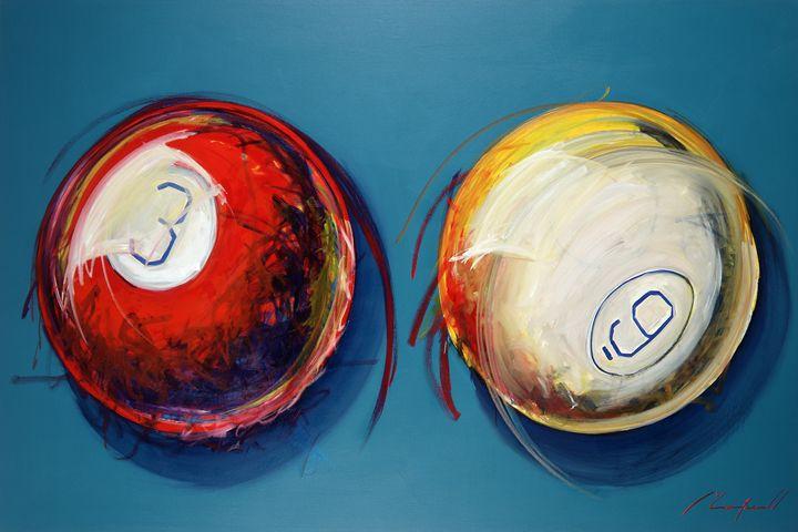 Pool - Chad Maxwell-fine artist