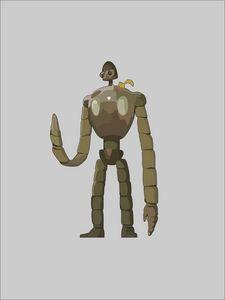 Laputa Robot Illustration