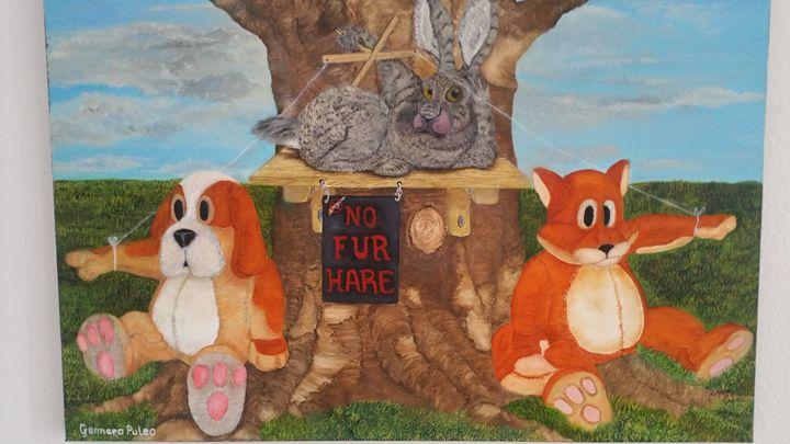 no fur hare - gennaro puleo