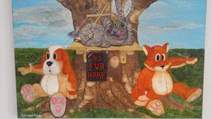 no fur hare