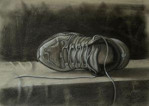 Running Shoes Still life