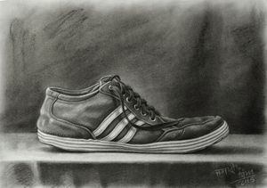 Adidas Shoe Still life
