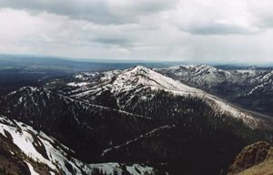 View from Mt. Washburn - Wend Images Gallery