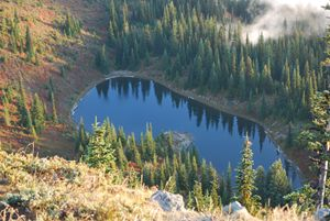 George Lake in the Cascade Mountains