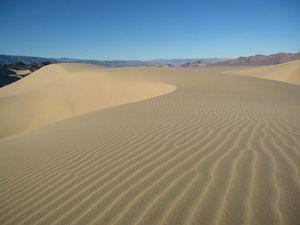 Fresh Sand at Dumont Dunes