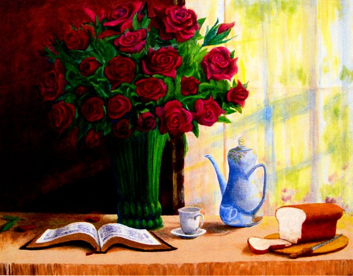 Bread and Roses - Art of Walter James Idema