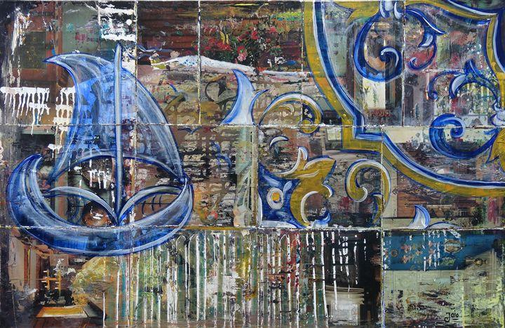 Com cheirinho a Portugal e Saudade - Paintings by Jaiodesign
