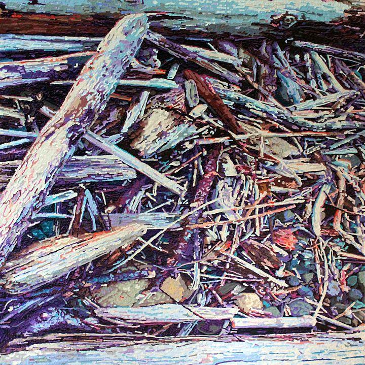Beach Obstacles 2 - Greg Navratil Art