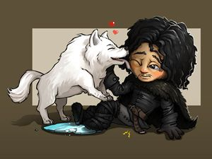 Jon snow:Game of Thrones