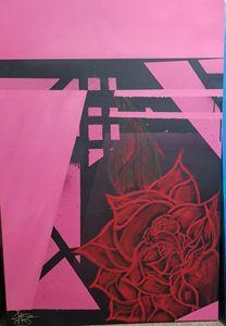Blossom in the dark