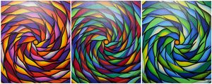 Colorful Spirals Series 5