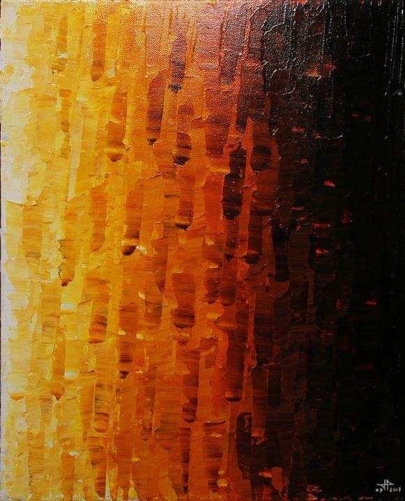 Orange fade - Jonathan Pradillon