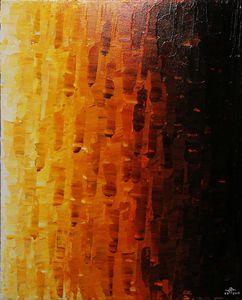 Orange fade