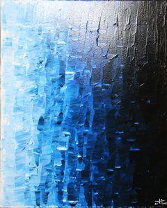 Bluish fade
