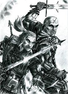 Geralt vs Letho