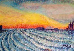 Waking waves