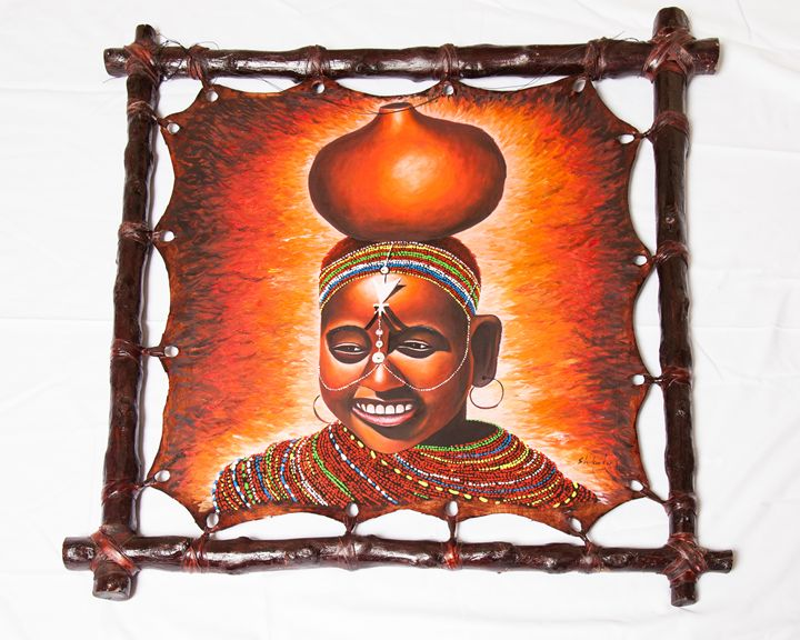 Young Masai Lady - Kenyan Artifacts