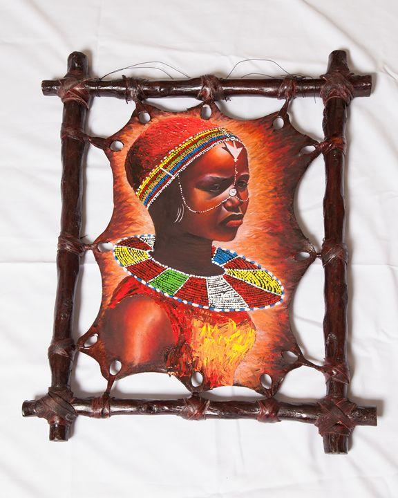 Teenage Masai Girl - Kenyan Artifacts