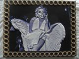 Marilyn Monroe 3D color carving