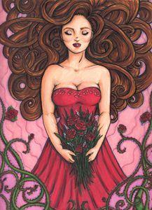 Sleeping Beauty - Jordan Elizabeth Art