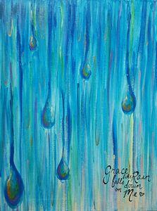 Grace falls like Rain