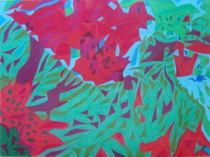 Red and green - Volkov Art
