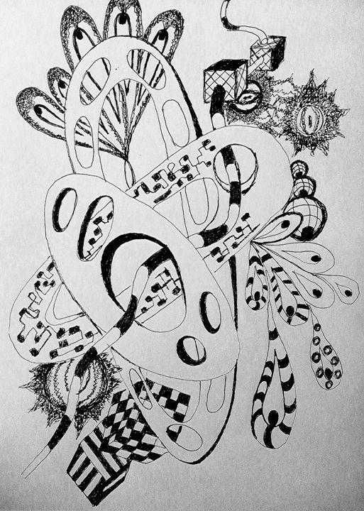 Abstract graphic - Sav