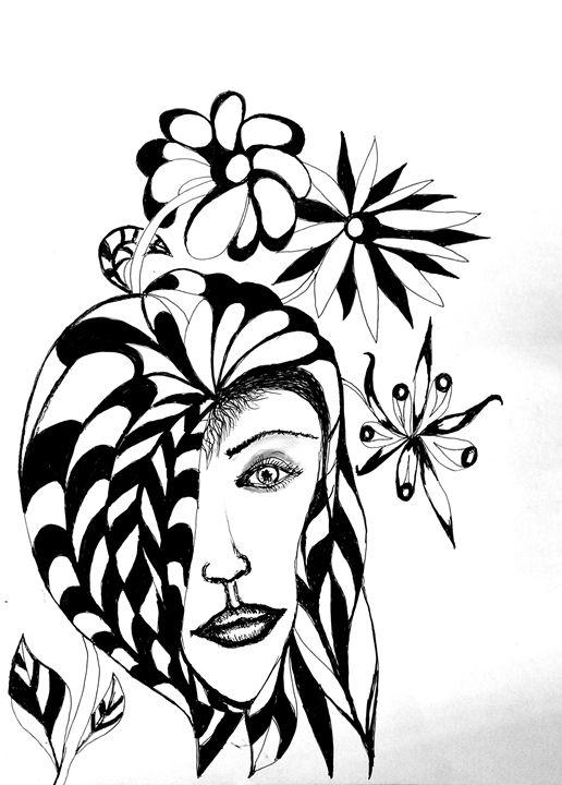 Flower girl - Sav