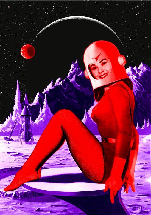 Space Babe - sasha alexandre keen