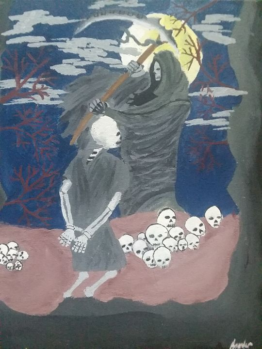 Reaper sacrifice - Branden Davis