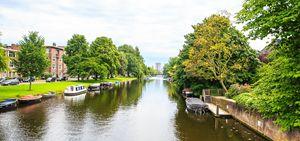 Dutch Water Front Summer Amsterdam 1