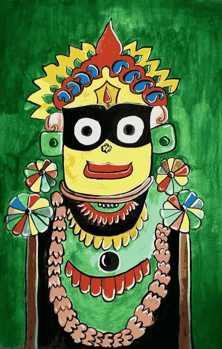 Lord Jagannath - Majestic Painter