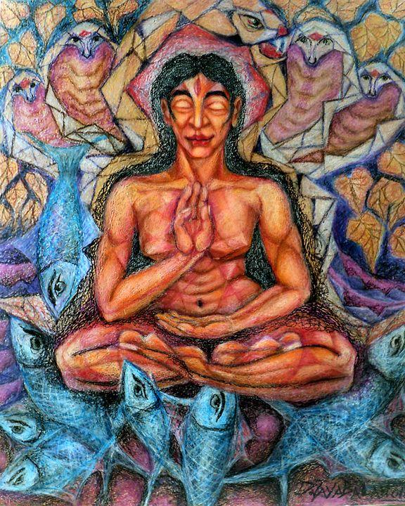 Siddha with third eye - Jayabalan