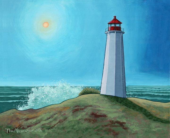 Lighthouse - Tina N Turner, Nicholson Studios