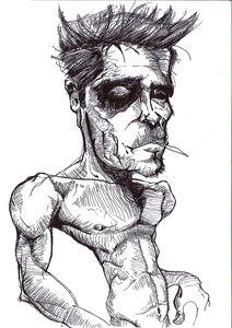 Fight Club Tyler Durdon Sketch