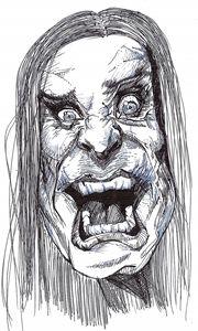 Ozzy Ozbourne Sketch