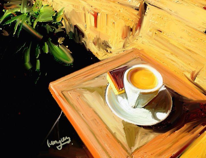 An Espresso in the Garden - christopherlangley.net