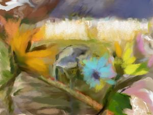 Floral in pastels - Images and colors