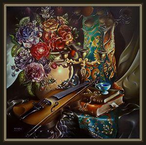 a floral buquet for orpheus