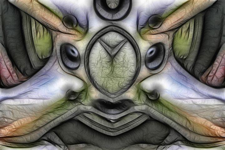 Battle Ready - Abstract Digital Fine Art