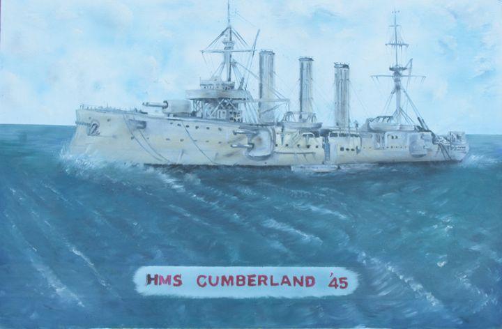 Hms cumberland - Dan Allured