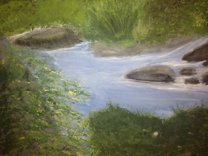 watching the water flow - Leanne Foster