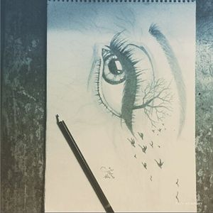 the withered eye
