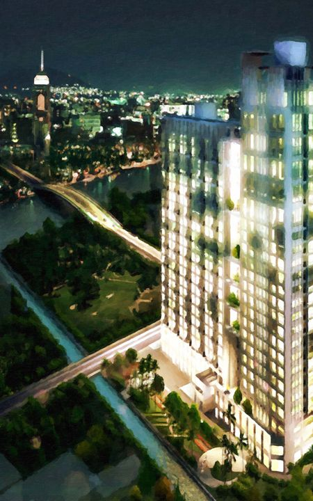 3D render of modern building - Lanjee