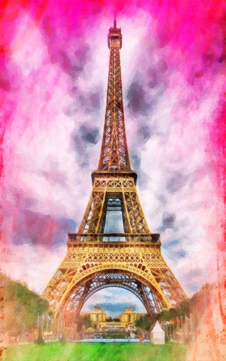 Eiffel Tower - Lanjee