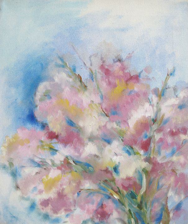 Almond flowers - tmk egocoro