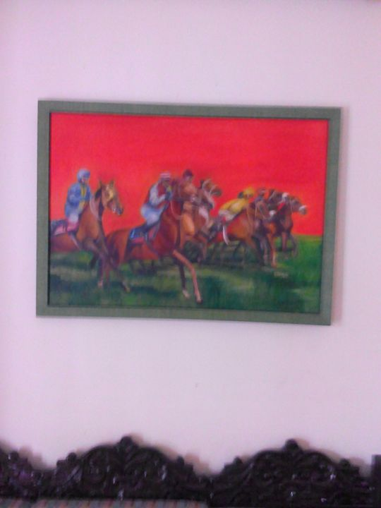 flying horses - Parul chaudhry