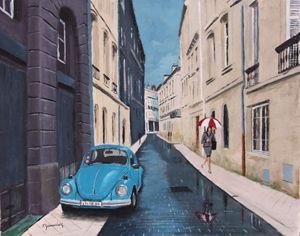 Rainy Day, Bordeaux